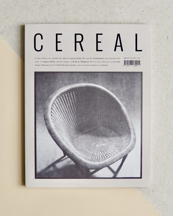 Cereal Volume 21 Cover