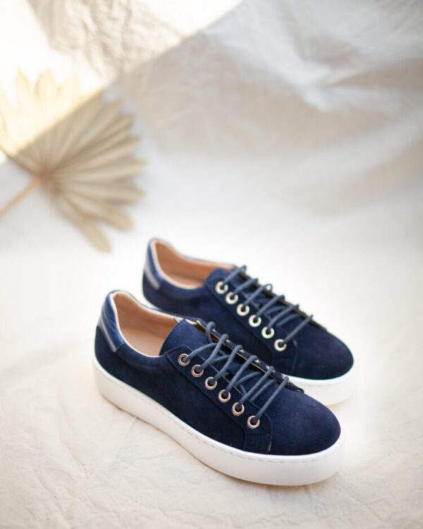 The Navy Sneakers