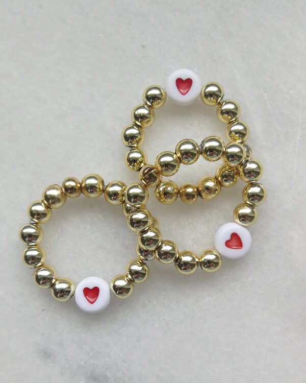 WUNDERVOLL AMORE Ti amo Rings